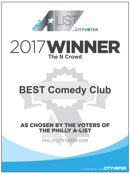 Philly A-List Best Comedy Club Winner